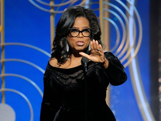 Oprah Winfrey's speech at the Golden Globes should