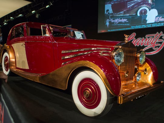 The Barrett-Jackson Auction takes place in Scottsdale