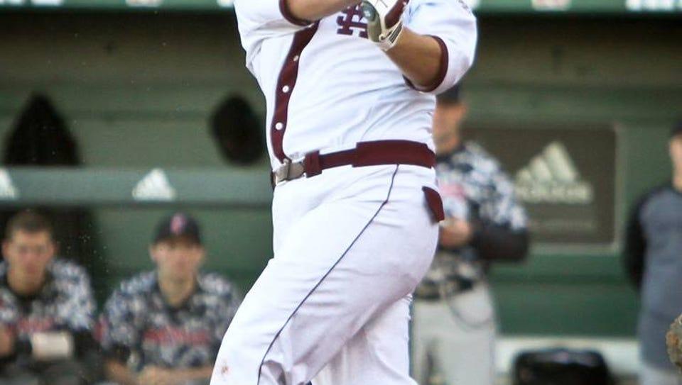 Mississippi State first baseman Wes Rea.