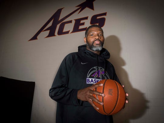 University of Evansville head coach Walter McCarty