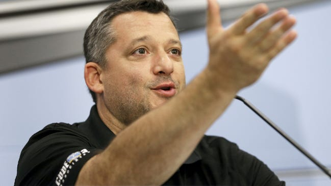 Former NASCAR champion Tony Stewart, the owner of the All Star Circuit of Champions, is a big supporter of a newly formed national sprint car council. AP FILE PHOTO