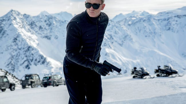 "Daniel Craig appears in ""Spectre,"" the most recent James Bond film, which was released in 2015. The release date for ""No Time to Die"" has been pushed back because of the coronavirus."