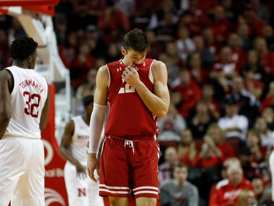 NCAA Basketball: Wisconsin at Nebraska