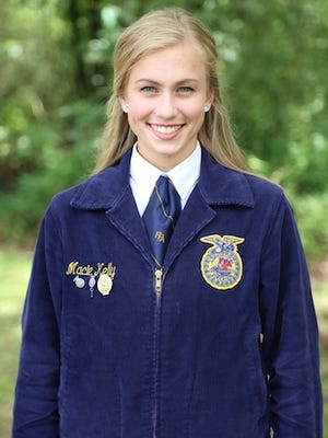 Future Farmers of America elects Macie  Kelly as the Arkansas FFA state reporter. Kelly was born and raised in Mountain Home.
