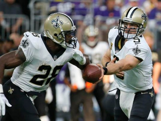 Drew Brees, Adrian Peterson