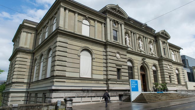 Exterior view of the Kunstmuseum in Bern, Switzerland on May 7, 2014. The Swiss museum says Monday, Nov. 24, 2014, that it will accept trove of priceless art bequeathed to it by German collector Cornelius Gurlitt.