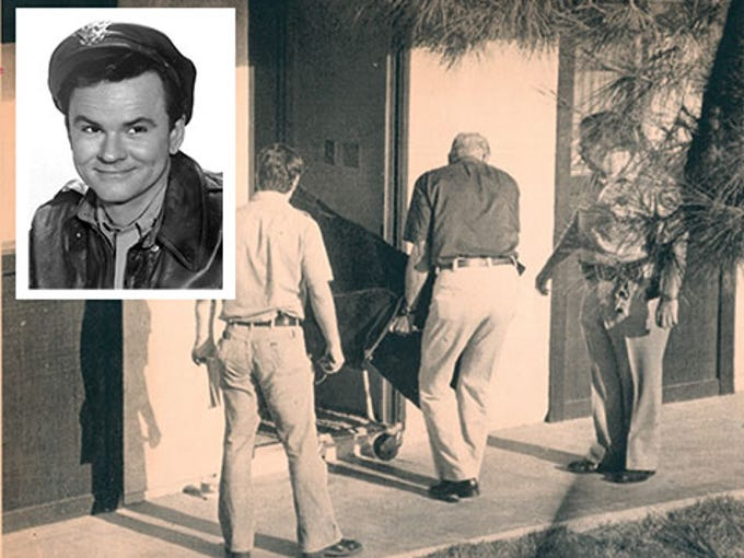"Celebrities who've died in Scottsdale: Bob Crane, actor, died June 29, 1978, at the age of 49. Crane was murdered in Scottsdale, where he was appearing in a play. He is best known for the TV show ""Hogan's Heroes."""