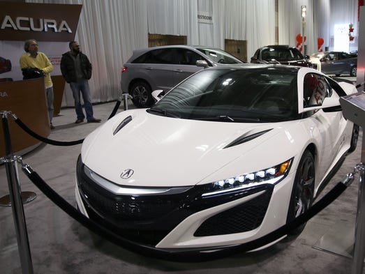 The Acura 2017 NSX is priced at $200,500 during the