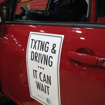 The One Second program aims to teach young drivers the dangers of driving while distracted -- including texting while driving.