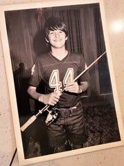 """Ed """"Eddie"""" Killer, age 11, was happy to get a participation"""