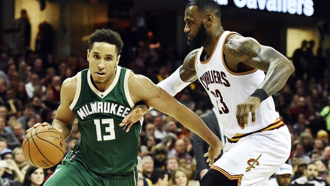 Malcolm Brogdon has emerged as a key role player for the Bucks as a rookie.