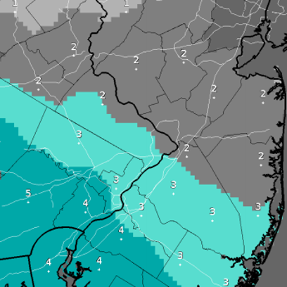 Snowfall today won't be as significant as forecasts
