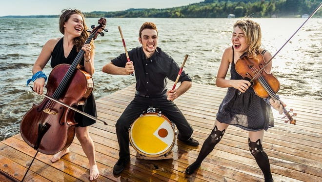 """Katie Larson, Michael Dause and Savannah Buist are the Accidentals. """"Parking Lot,"""" the group's new seven-track EP, arrived in June"""