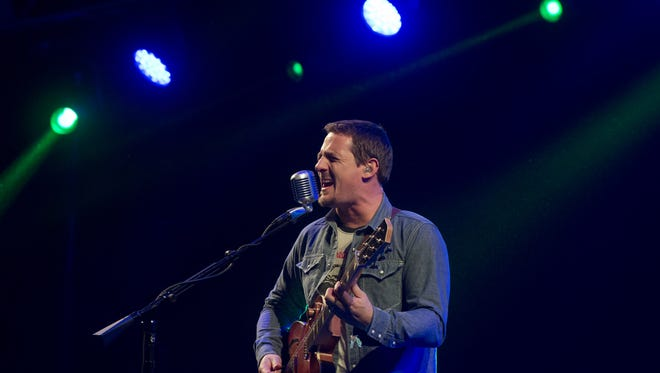 Sturgill Simpson performs Saturday at the Okeechobee Music & Arts Festival.