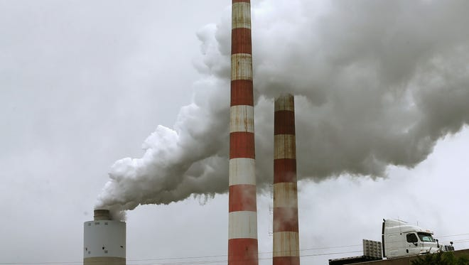 A coal power plant in Maryland.