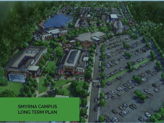 This rendering shows a Motlow State Community College