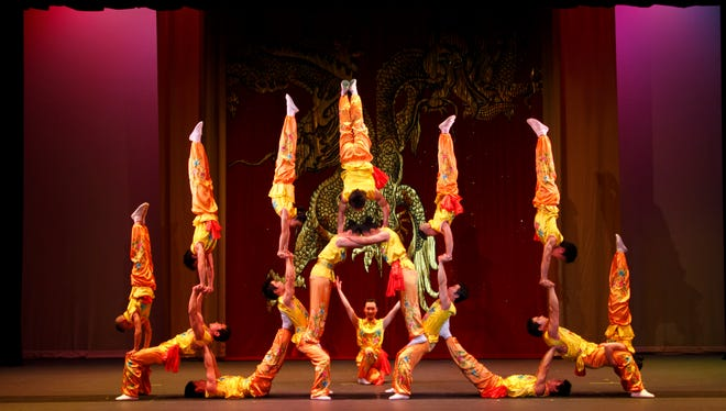 The Peking Acrobats defy gravity with amazing displays of contortion, flexibility and control. They'll be performing in Scottsdale in January.