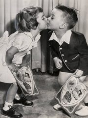 All ages get into the spirit of Valentine's Day, which