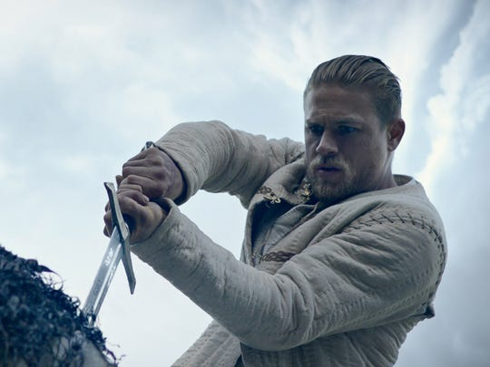 Charlie Hunnam plays the hero who wields the magical