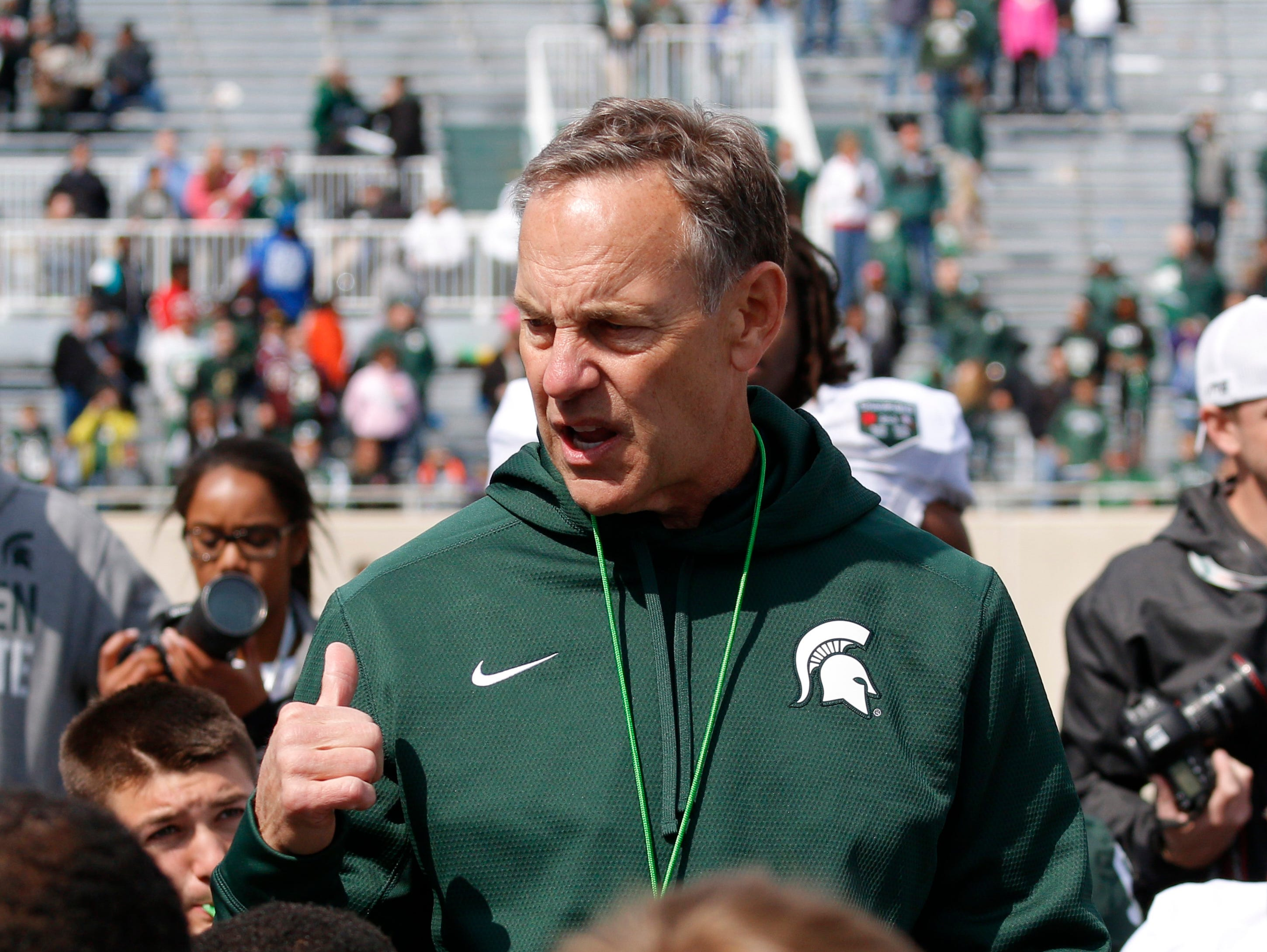Recruiting two from ohio close to saying yes to msu usa today