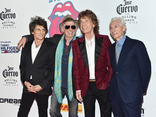 Ronnie Wood, Keith Richards, Mick Jagger, Charlie Watts