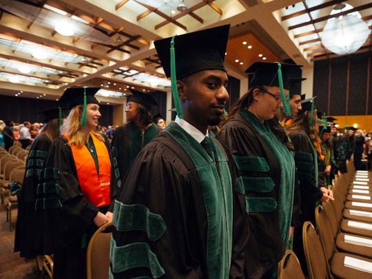 Univerity of Tennessee Health Science Center holds graduation ceremony for its College of Medicine students at Cook Convention