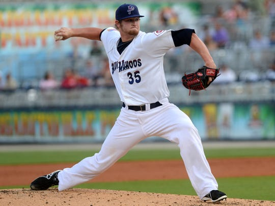 Gulf Breeze native Ben Lively makes his debut appearance on the pitching mound for the Pensacola Blue Wahoos on Monday. He is the first player from the area to join the Blue Wahoos roster.