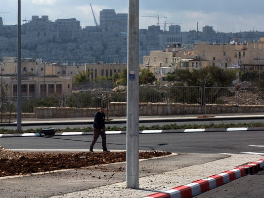 MIDEAST ISRAEL PALESTINIANS CONFLICT JERUSALEM