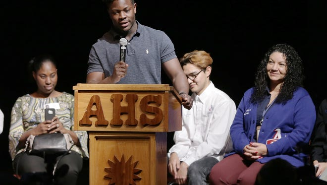 Americas High School running back Joshua Fields announce Wednesday he would be playing football at UTEP.