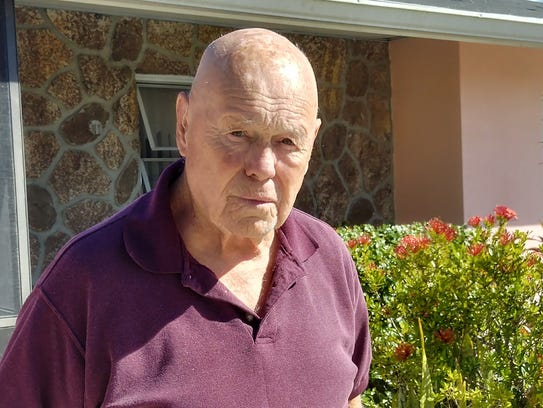 Henry Stewart, of Cape Coral, shared his father's World
