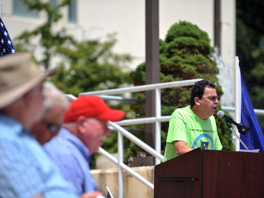 Puerto Rican Festival of New Jersey president Leonides
