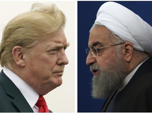 Donald Trump,Hassan Rouhani