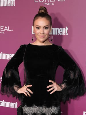 """""""My hope is people will get the idea of the magnitude, of just how many people have been affected by this in the world, in our lifetimes ...,"""" says Alyssa Milano, 44, actress, activist, producer and mother of two."""