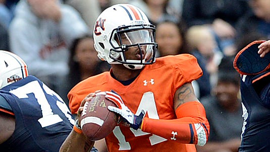 "Auburn quarterback Nick Marshall is eager to lead a ""scary"" offense in 2014."