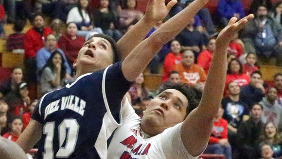 Bel Air hosted Del Valle Friday night in boy's prep