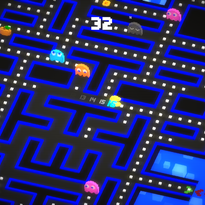 """Pac-Man 256,"" developed by Hipster Whale, is free to play on mobile devices."