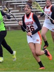 Hannah Kelley (26) is enjoying a breakout season for