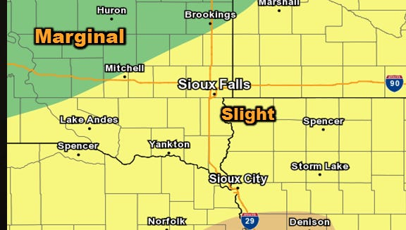Heavy rain, strong winds and hail are likely Tuesday night, May 16.