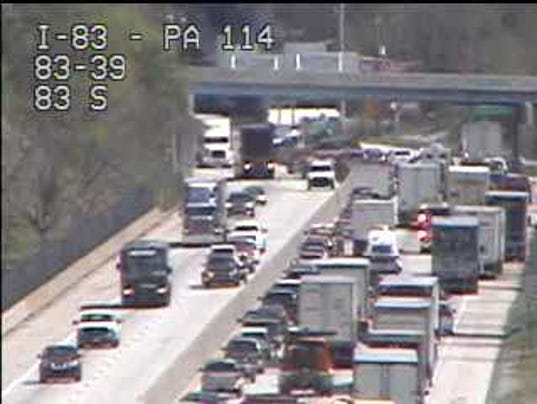 Traffic I-83 4/26