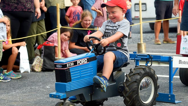 The Antique Tractor and Farm Machinery Show is this weekend in Alexandria.