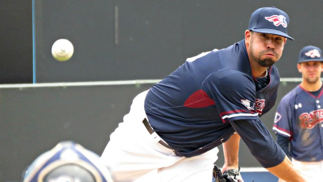 Dustin Molleken is 2-1 with a 3.11 ERA in his first nine appearances for the Somerset Patriots