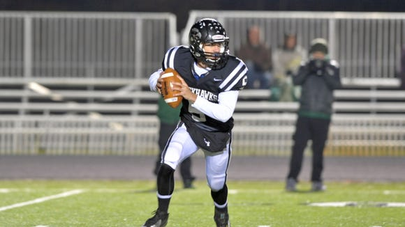 North Buncombe quarterback Chase Parker will be a senior in 2015.