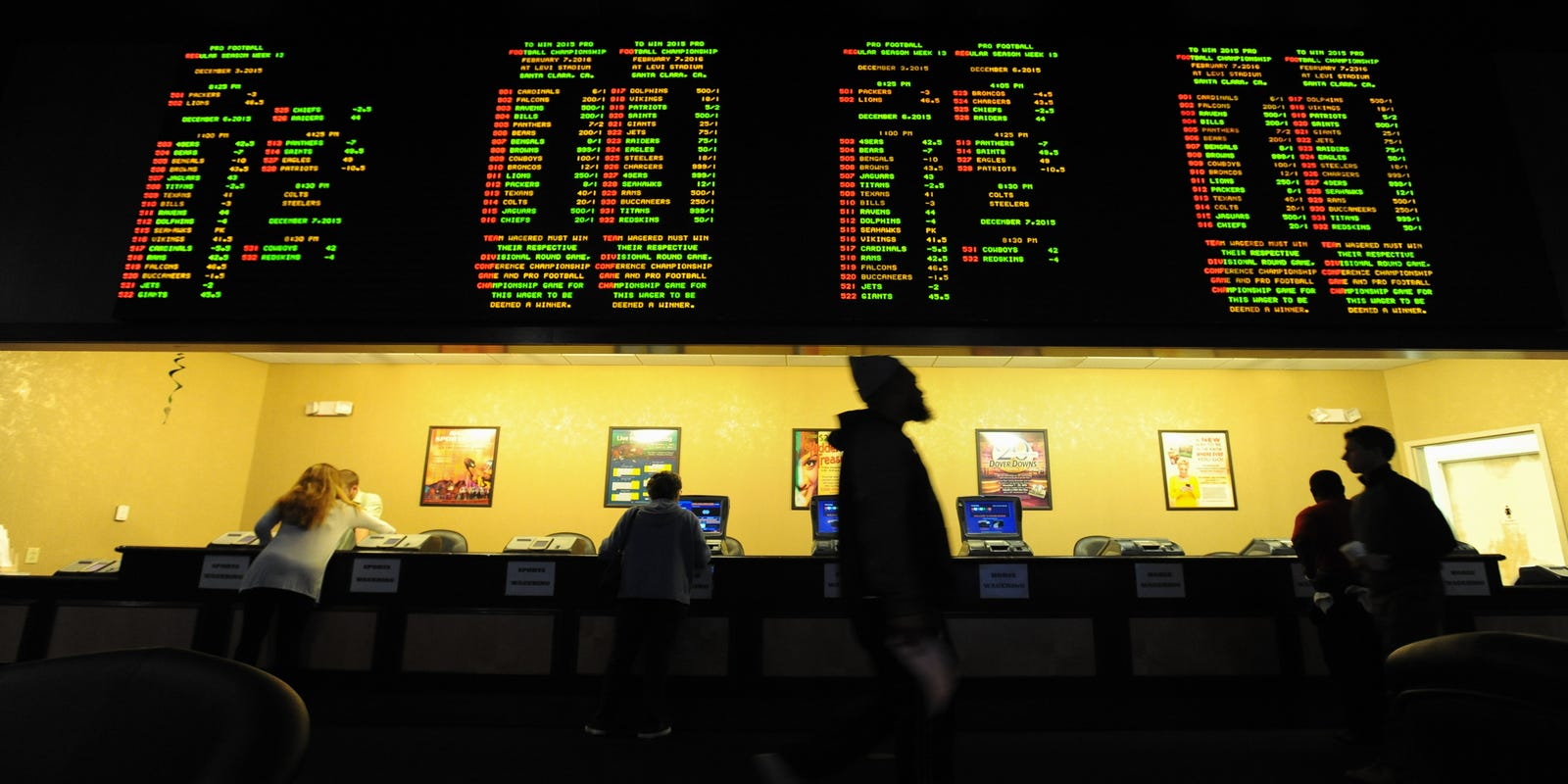 Delaware sports betting store ou texas betting line