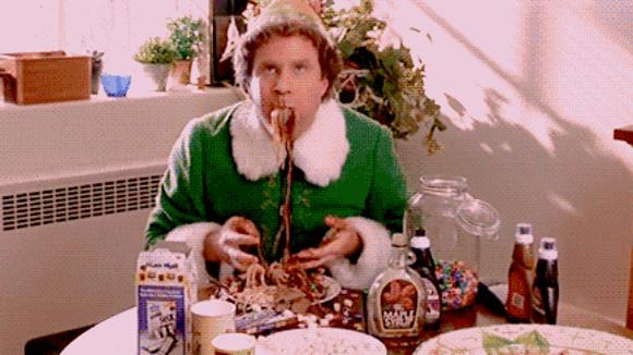 elf-eating-junk-food