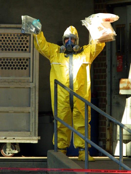 AFP A03 NJ ANTHRAX INVESTIGATION DISEASES USA NJ