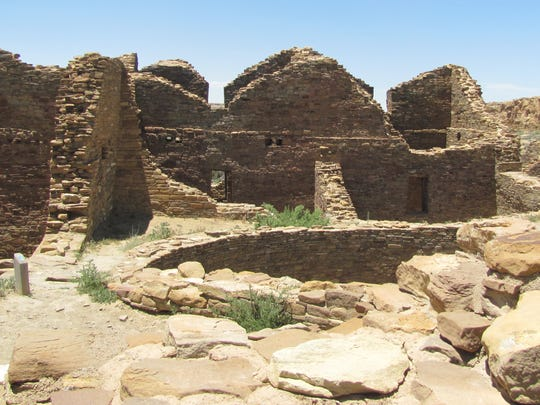 Ancestral Puebloan people settled in villages throughout