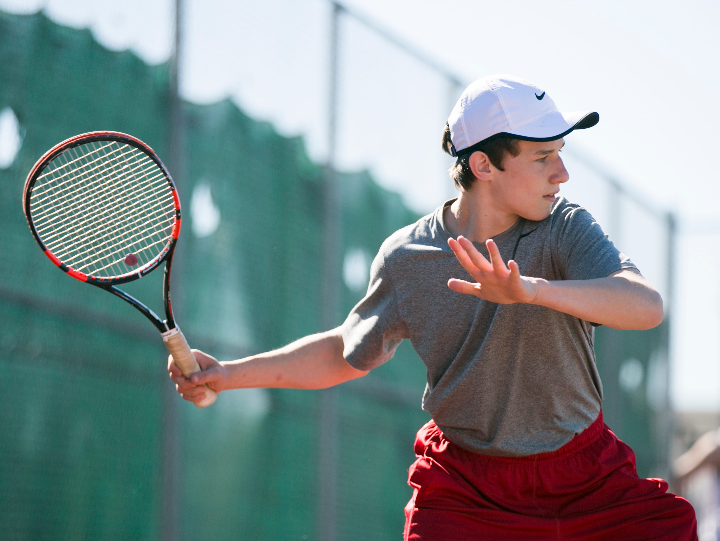 Dallas High School senior and tennis player Thomas Gniadecki is a foreign exchange student from Denmark. Gniadecki has competed not just in tennis but in the sport Dallas is best known for: wrestling.