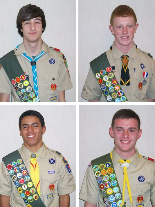 Eagle Scouts May 30