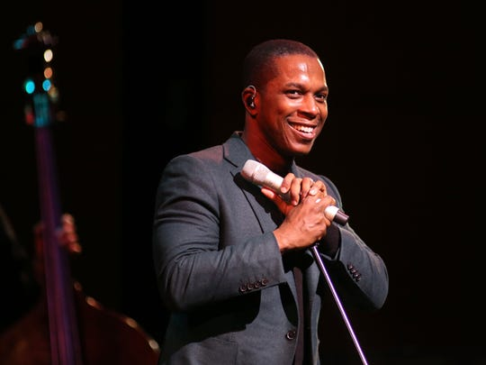 Leslie Odom Jr. will sing a holiday concert with the Milwaukee Symphony on Dec. 11 at the Riverside Theater.