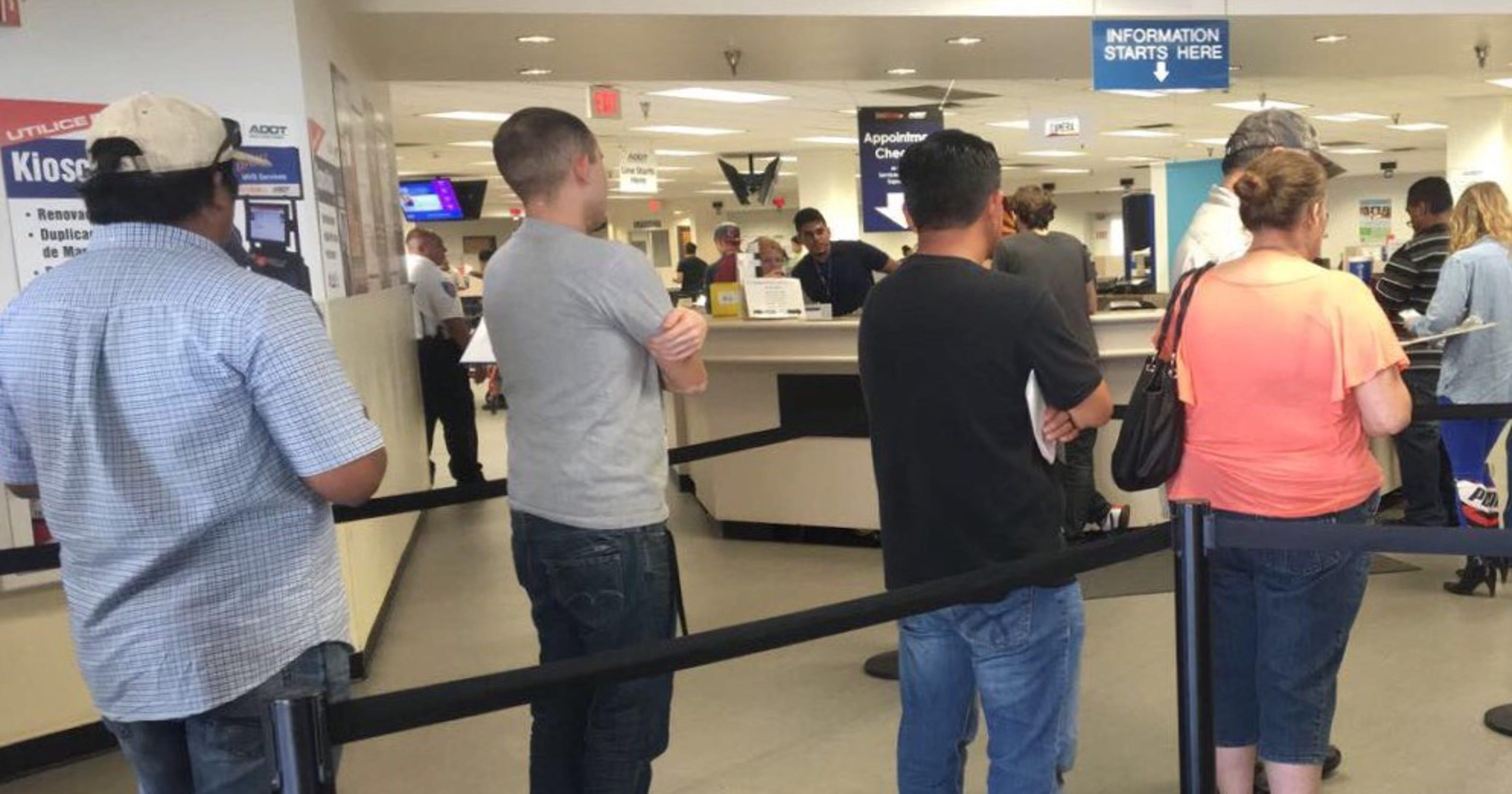 drivers license test az appointment